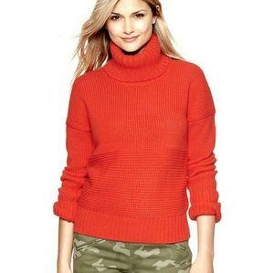 Gap women turtleneck knit sweater
